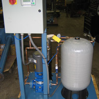 Simplex Filtrating Booster Skid